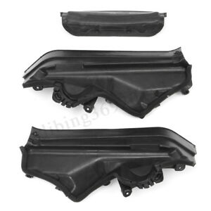 3x Engine Upper Compartment Partition Panel For Bmw X5 E70 2006 2013 51717169419