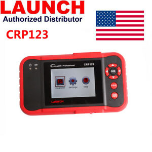 Launch Crp123 Obd2 Scanner Abs Airbag Transmission And Engine Scan Tool Abs Srs