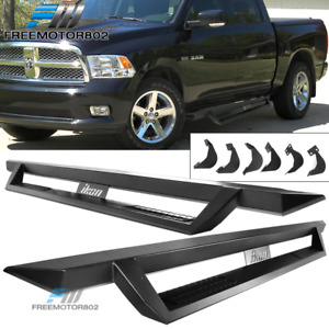 Fits 09 15 Ram 1500 10 15 2500 3500 Crew Cab V1 Running Board Side Step Nurf Bar