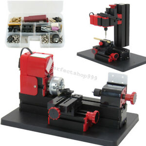 6 In1 Lathe Wood Metal Diy Tool Jigsaw Milling Lathe Drilling Machine 20000rpm