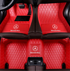 2005 2020 Mercedes benz All Models Luxury Custom Waterproof Floor Mats Logo