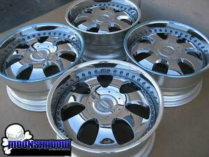 New 20 Maido Ls7 Chrome Wheels Rims 6x139 7 Chevy Gm Truck Suv 20x9 5 Asanti