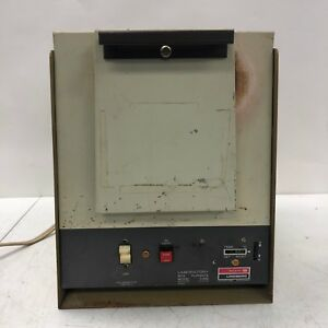 General Signal 51848 Lindberg Bench top Laboratory Lab Box Oven Furnace Wear