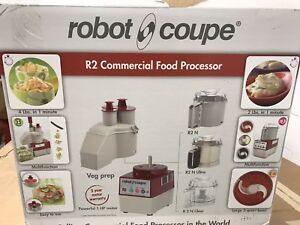 Brand New Free Shipping Robot Coupe R2n 3 Qty Combination Feed Food Processor