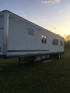 45 Custom 5th Wheel Concession Trailer Mobile Kitchen Food Catering Disaster