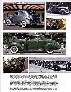 1937 Chrysler Convertible Article Must See Airflow Royal Imperial