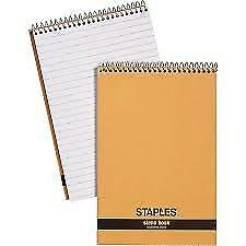Staples Recycled Steno Book X 9 Note Pad