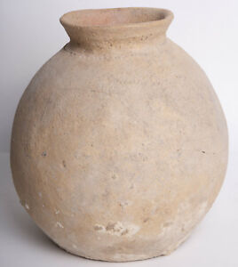 Large Ancient Bronze Age Pottery Jar C 3000 Bc Size 8 3 4 Inches High