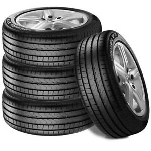 4 New Pirelli Cinturato P7 205 55r16 91v High Performance Tires