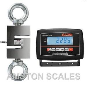 5000 Lb S type Load Cell Lcd Indicator Hanging Crane Scale Tension Compression B
