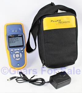 Fluke Networks Aircheck Wifi Wi fi Wireless Performance Tester Near Mint