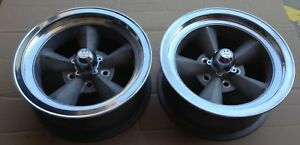 Vintage Ansen American Racing Torque Torq Thrust 16x7 Chevrolet Wheels