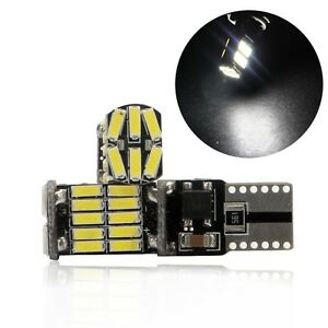50x T10 26 Smd 3014 Led White 194 168 2825 W5w Canbus No Error Car Lights Bulb