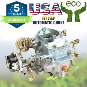 Carburetor Fit Jeep 2barrel Bbd 6cyl 4 2l 258cu Engine Carb Type Amc Oem Replace