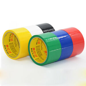 40m Packing Packaging Carton Sealing Tape 6 Colors 0 05mm Thick 4 5 7cm Width