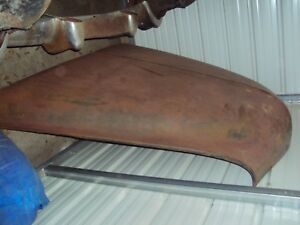 1950 Mercury Hood 49 51 Good Solid Condition Straight In Storage For 40 Years