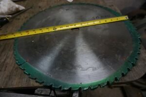 18 Cutoff Rip Saw Blade 1 1 4 Bore 60 T