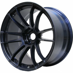 Gram Lights 57xtreme 18x9 5 5x114 3 5x4 5 22mm Blue Wheels Rims Wgjx22ee