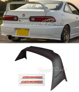 94 01 Integra 2dr Dc2 Mugen Gen 1 Rear Trunk Spoiler Wing Coupe W Red Emblems