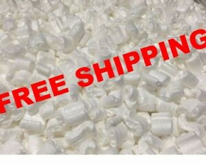 Packing Peanuts Shipping Anti Static Loose Fill 150 Gallons 20 Cubic Feet White