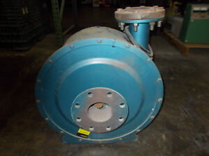 Spencer 2 Hp 3500 Rpm Centrifugal Blower Fan Exhaust 480v 3 ph 4 ports