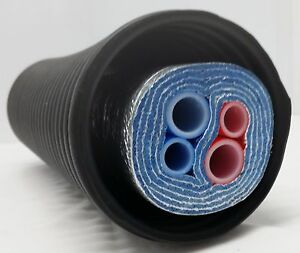 250 Ft Of Commercial Grade Ez Lay 5 Wrap Insulated 2 1 2 3 4 Nb Pex Tubing