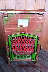 Antique Economy 100 Cast Iron Gas Heater