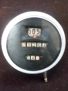Antique Model T Ford Speedometer Original