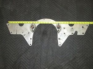Chevy Bbc Big Block Front Motor Plate Big Block Engine Aluminum W p Spacers