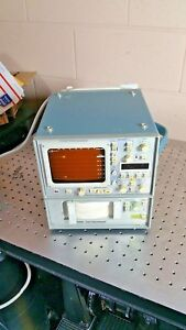 Vintage Tektronix Clinical Ecg Monitor 414 With Option 21 And 400 Recorder