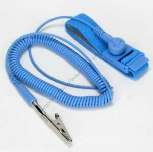 Lot10 Anti static Wrist Strap Antistatic Device Grounding Clamp Cable cord wire