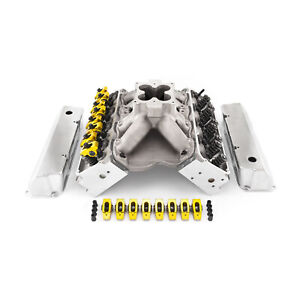 Fits Ford 302 351c Cleveland Solid Roller Cnc Cylinder Head Top End Engine Combo