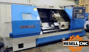 1997 Ikegai Tu30l Slant Bed Cnc Lathe W Steady Rest