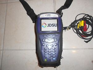 Jdsu Hst 3000 Bdcm wb2 2 Cable Meter Color Screen Copper Testing Blue Tooth
