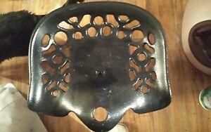 Cast Iron Tractor Seat