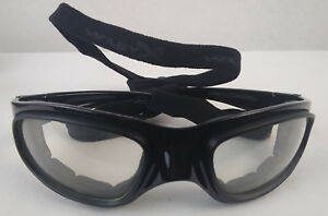 Wiley x Sg 1 Z87 2 Black Curved Safety Glasses Frames Goggle Strap