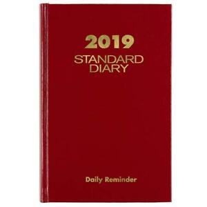 At a glance 2019 Standard Diary Daily Reminder Plan Schedule Organizer Planner