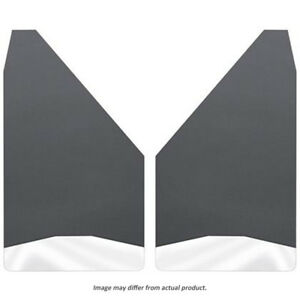 17151 Husky Liners Stainless Mud Guards Universal Flaps 12 Wide