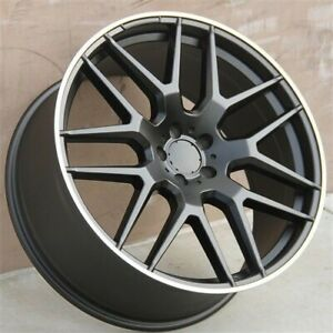 4 set 22 22x10 Wheels Tires Pkg Benz Gl450 Ml350 Ml500 Ml550 Gl350 Gle350