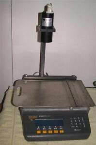 Weigh Tronix Model 830 Table Top Bench Scale 50lb Quartzell Accuracy