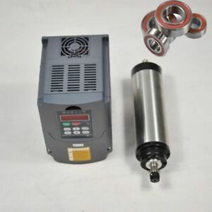 1 5kw Er16 Water Cooled Cnc Spindle Motor Variable Frequency Drive Vfd Inverter