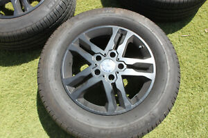 4x Oem Genuine 18 Mercedes G Wagon G55 G550 G63 G500 Amg Black Rims Tires