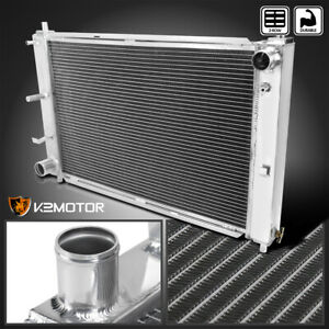 For 1997 2004 Ford Mustang Mt 2 Row Aluminum Performance Cooling Radiator