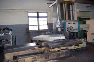 4 Used Toshiba Shibaura Table Type Horizontal Boring Mill Bt 10br A1140