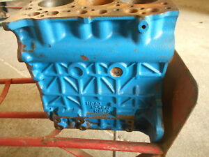 Ford New Holland 1710 Engine Bare Block 3 Cylinder H843 1396cc N852