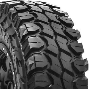 4 New Gladiator X Comp M T Lt265 70r17 Load E 10 Ply Mt Mud Tires
