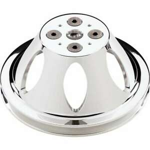 Billet Specialties 80120 Polished Sbc 1 Groove Upper Pulley