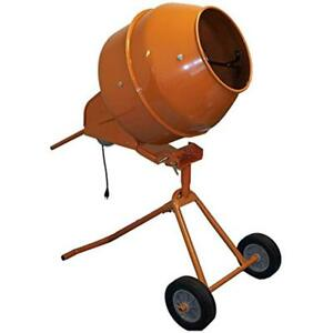 5 Cubic Feet Tall Portable Cement Concrete Mixer Home Improvement