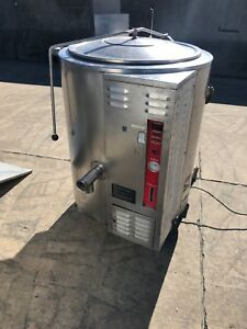Crown Vulcan 40 Gal Stationary Kettle Gl 40e Commercial Kitchen Food Prep Mixer