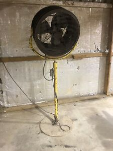 20 Pedestal Fan Steam Punk Fan Architectural Vintage Industrial Decor Art